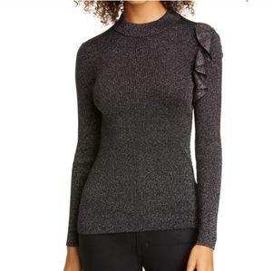 NEW Ted Baker London Addale Metallic Sweater